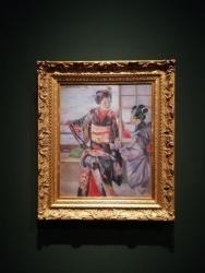 黒田清輝「舞妓」明治26年(1893)