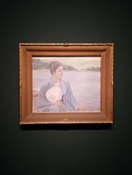黒田清輝「湖畔」明治30年(1897)