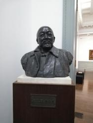 高村光太郎作 黒田清輝像(1932年 ブロンズ)