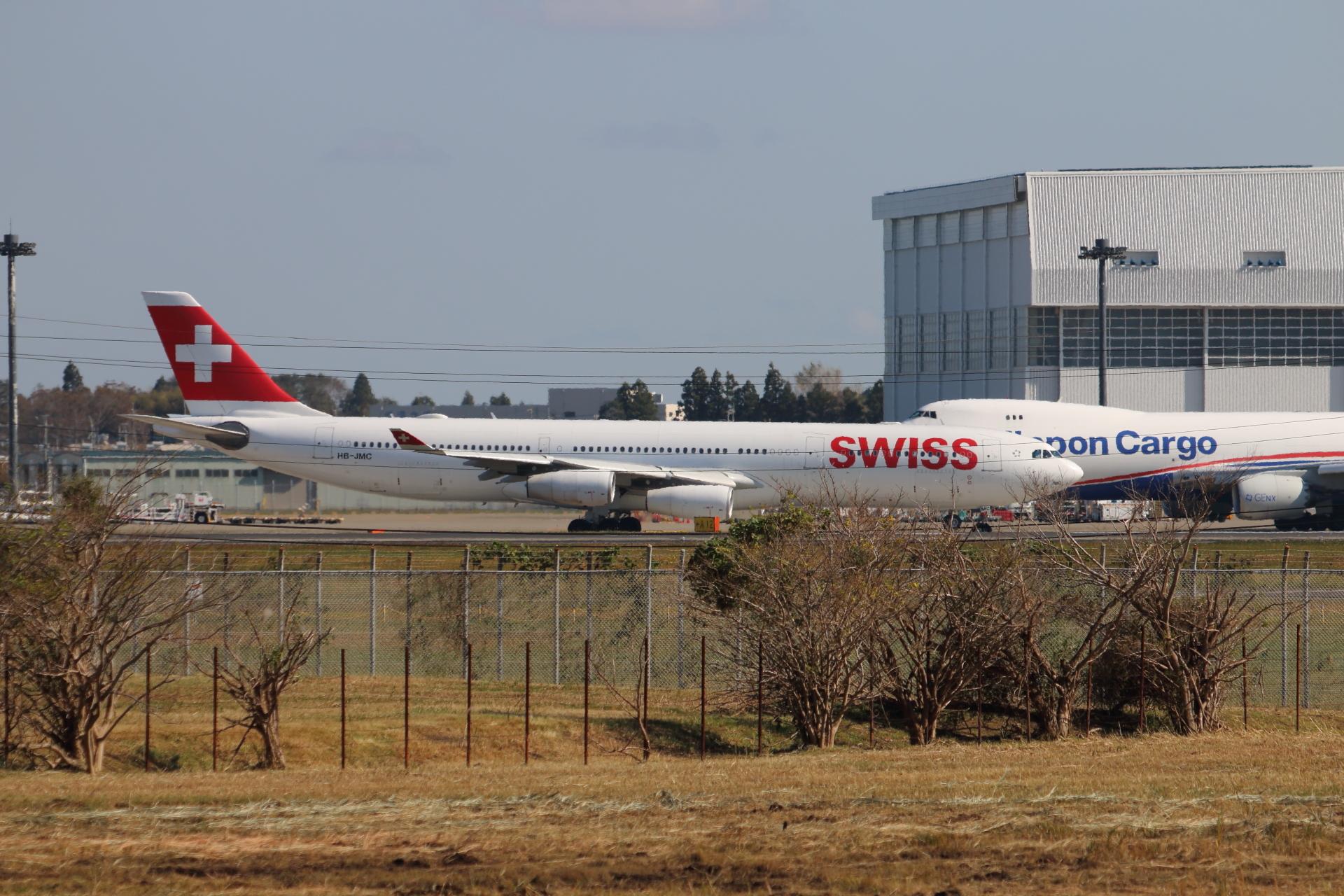 スイスインターナショナルエアラインズ A340-300