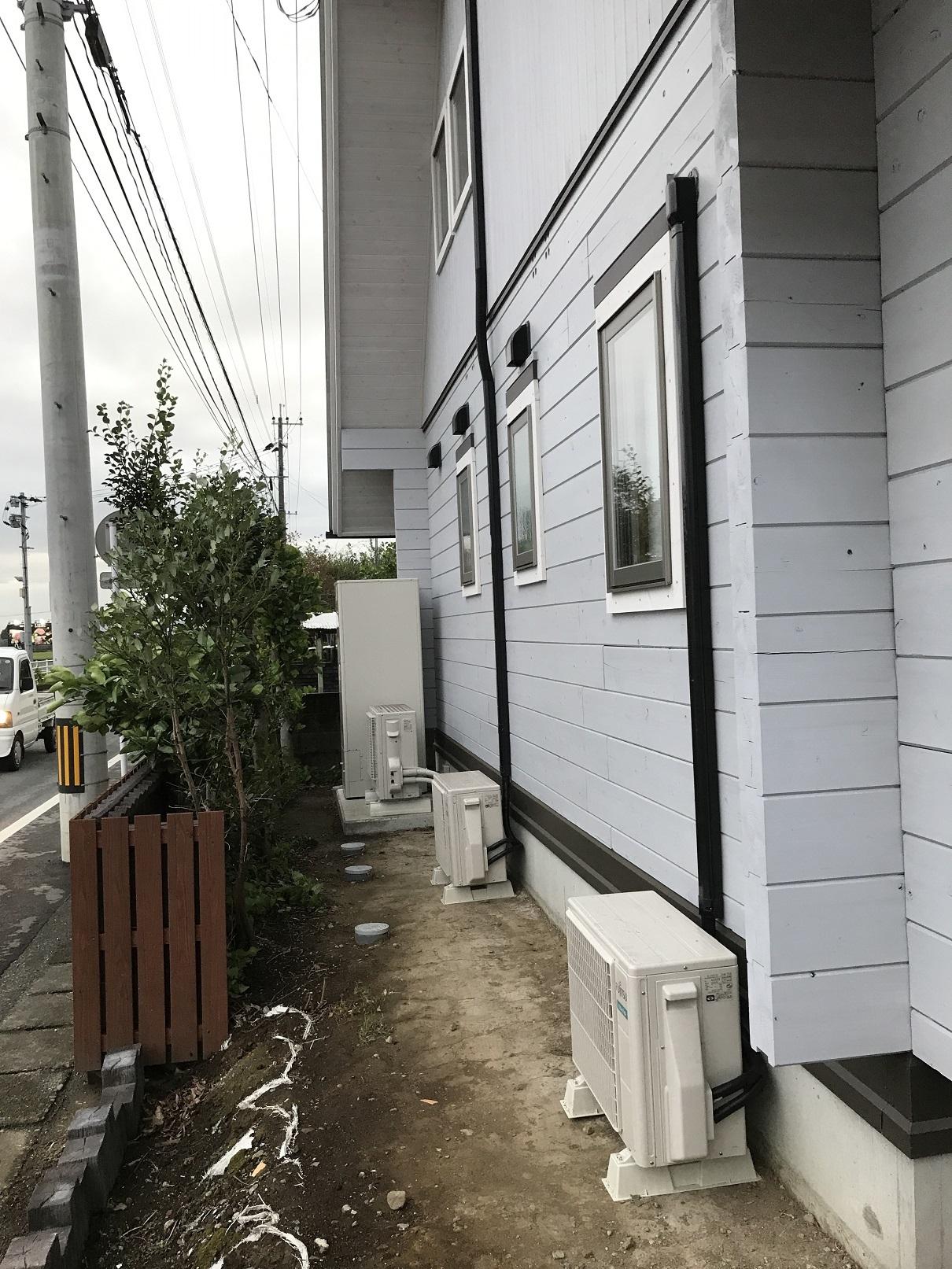 エアコン工事 セトリング除け (1)