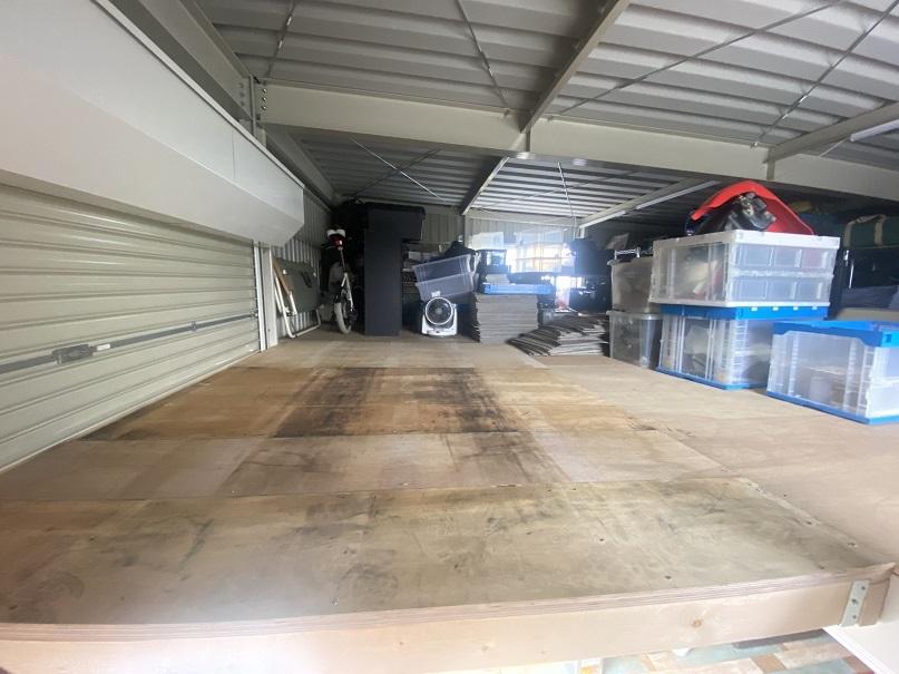 ガレージ増床 (6)
