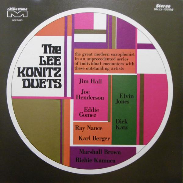 Lee Konitz_Duets