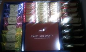 メリー チョコレートパーティー 中身
