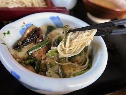 20-2-23 そば1たべ山菜