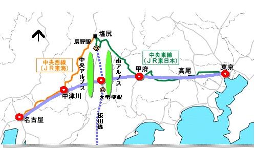 飯田線マップ