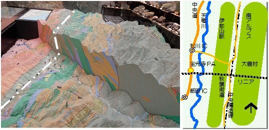大鹿村博物館マップ