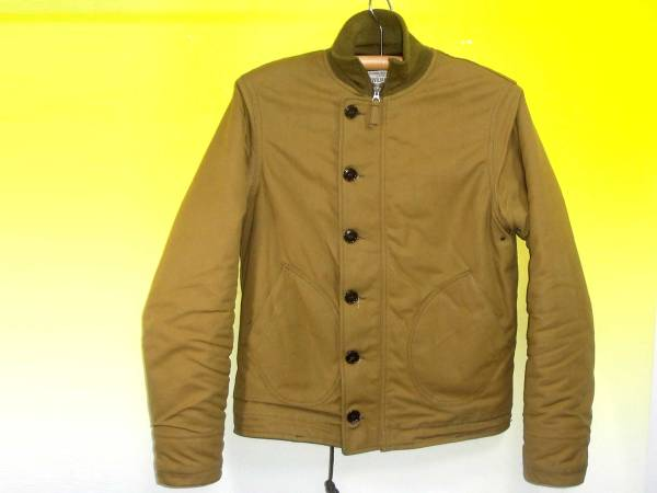 お買取商品フリーホイーラーズFREEWHEELERS CIVILIAN CREW デッキジャケット 1940s CIVILIAN MILITARY STYLE CLOTHING