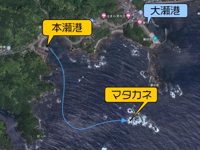 マタカネ渡船図