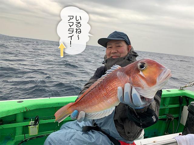 コマっちゃん甘鯛