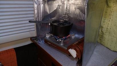 初めての車中泊料理 (8)