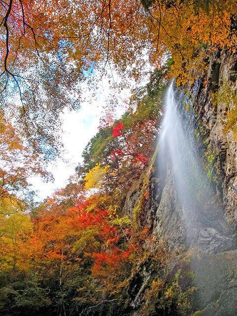 紫流の滝07