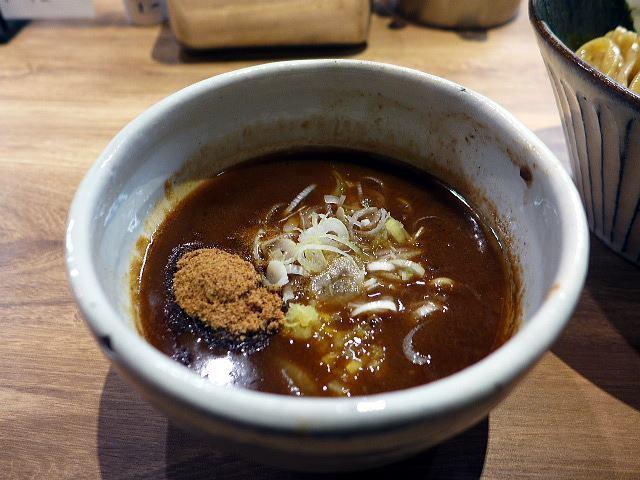 自家製麺 つきよみ@01魚介とんこつつけ麺 大 3