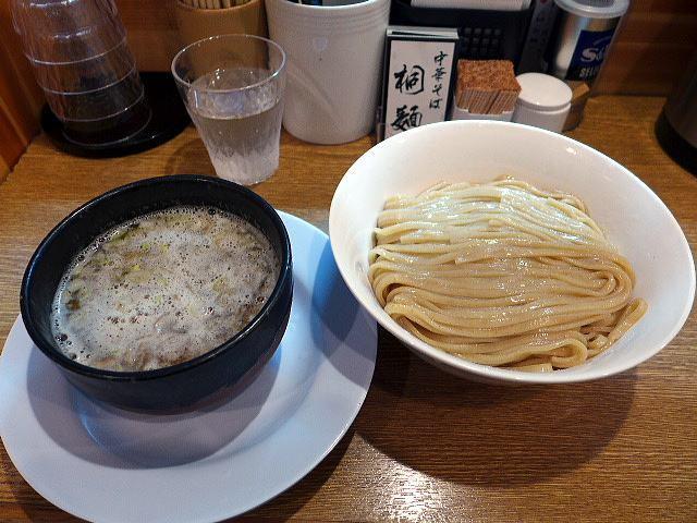 中華そば 桐麺@04鶏白湯塩つけめん(こってり) その2 1