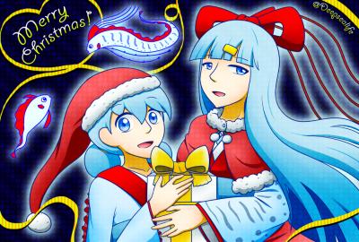 2019年クリスマス絵b