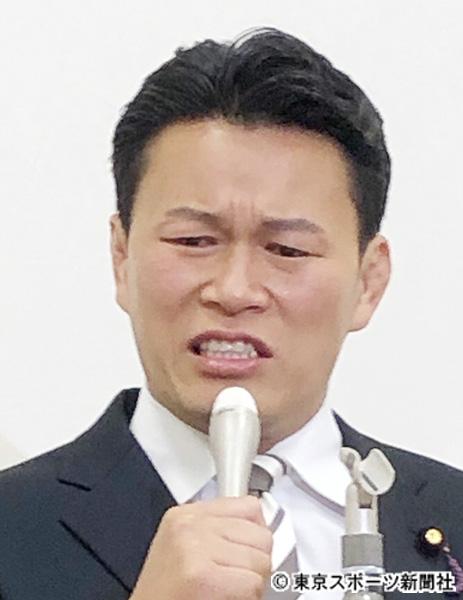 離党届提出の立民・須藤元気議員が涙の訴え「山本太郎さんの消費税5%削減に賛成です」