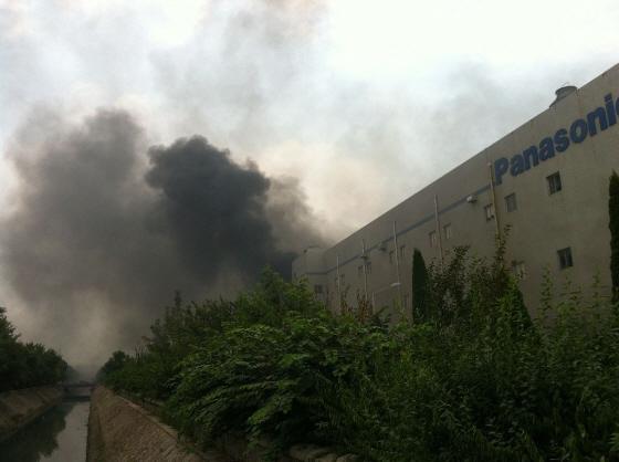2012年、支那の反日暴動 山東省青島のパナソニック工場