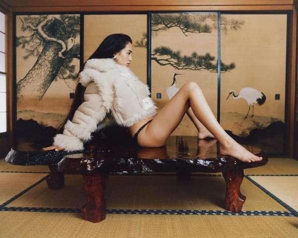 日本人感というか、水原希子さんが海外の雑誌で和室で露出の高い格好をされたりJapanese modelと紹介されてるのが原因かと思います。特に和室で下半身を露出された写真は国籍人種関係なく不快感を覚える人は多いかと