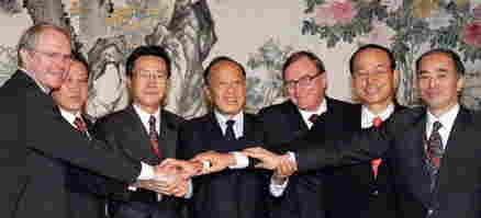 2003年からは「6カ国協議」「6者協議」と呼ばれる会合が繰り返される