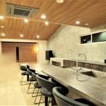 京都市北区紫竹 PIN工法木造2階建 二世帯 和モダンの家