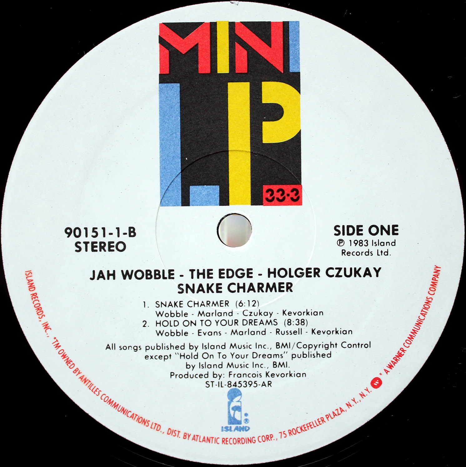 Jah Wobble, The Edge, Holger CzukaySnake Charmer 03