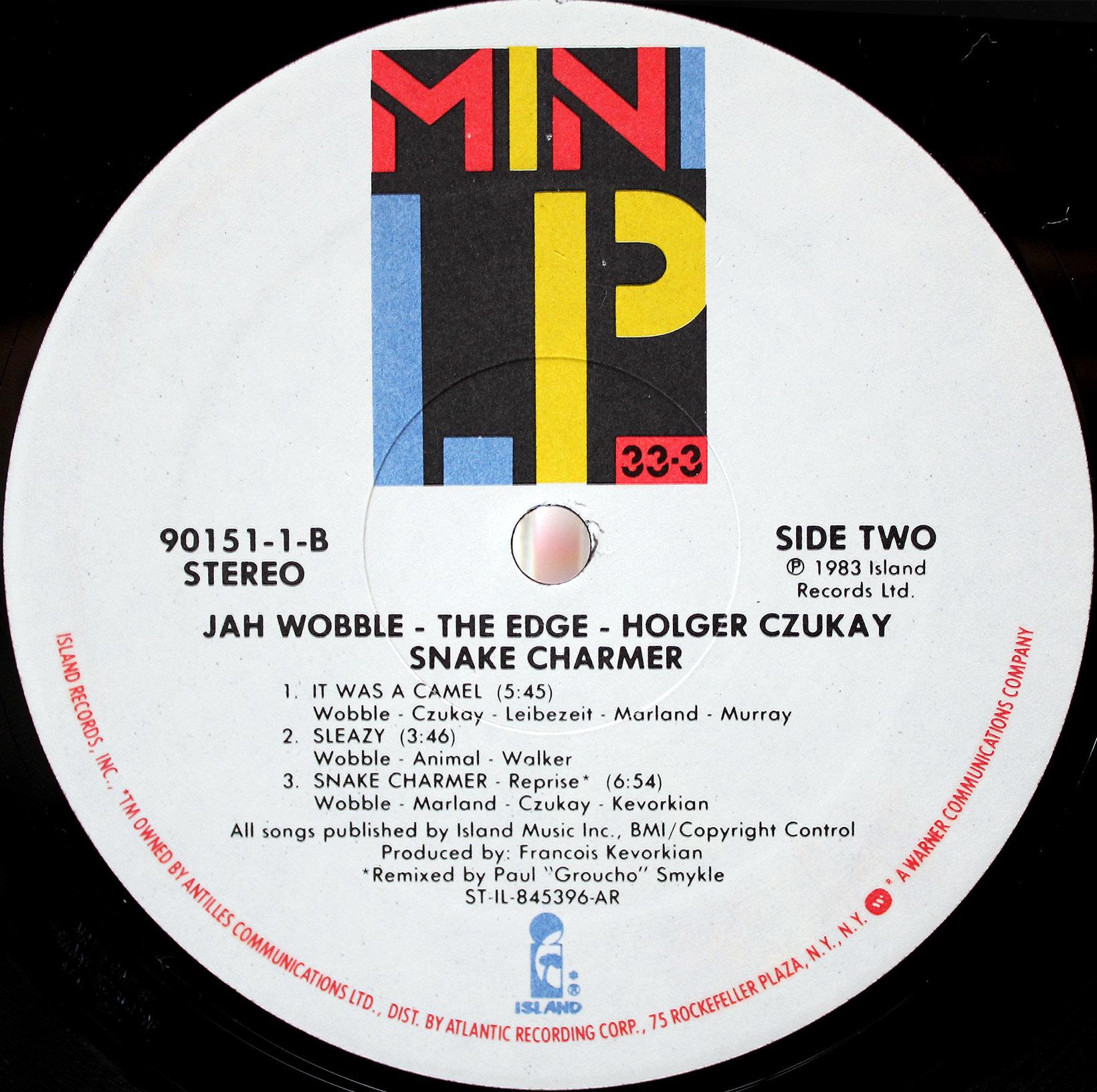 Jah Wobble, The Edge, Holger CzukaySnake Charmer 04
