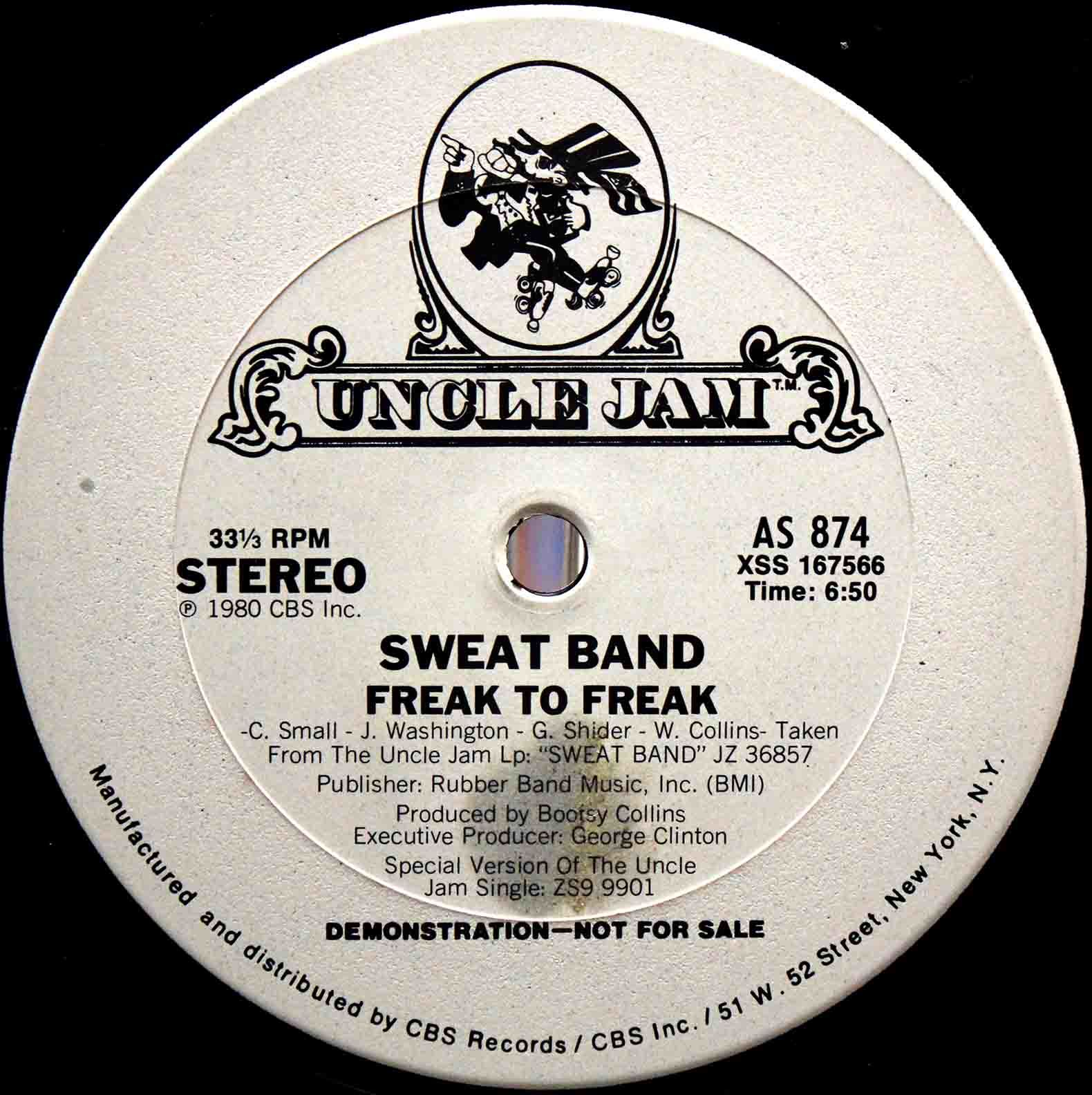 Sweat Band - Freak To Freak 02