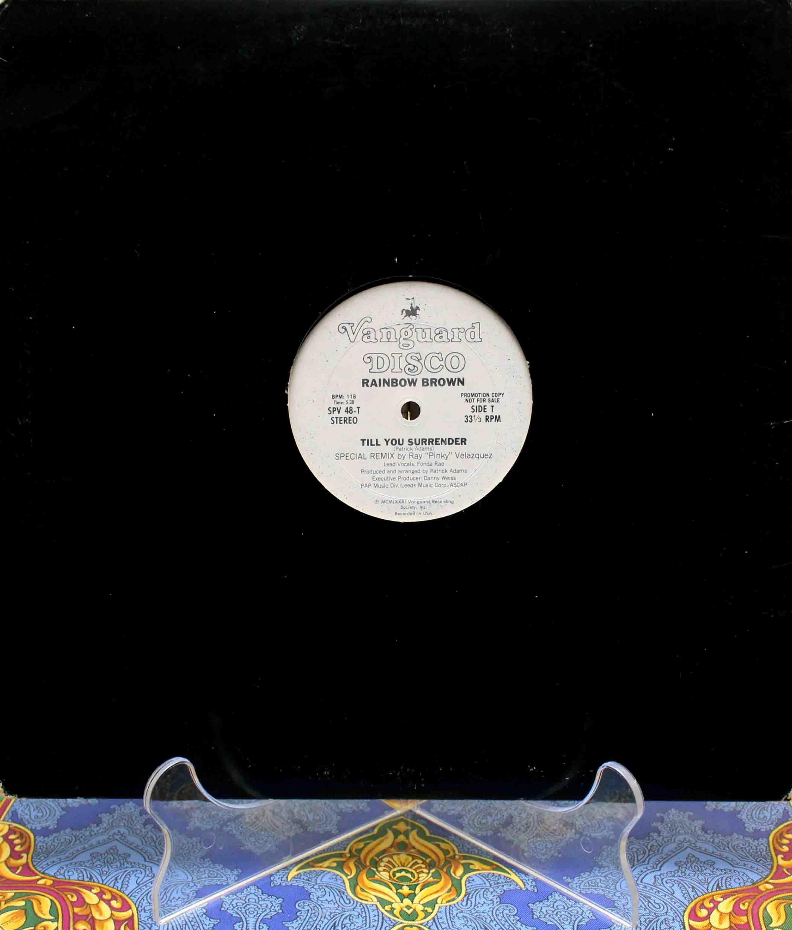 Rainbow Brown – Till You Surrender Remix 01
