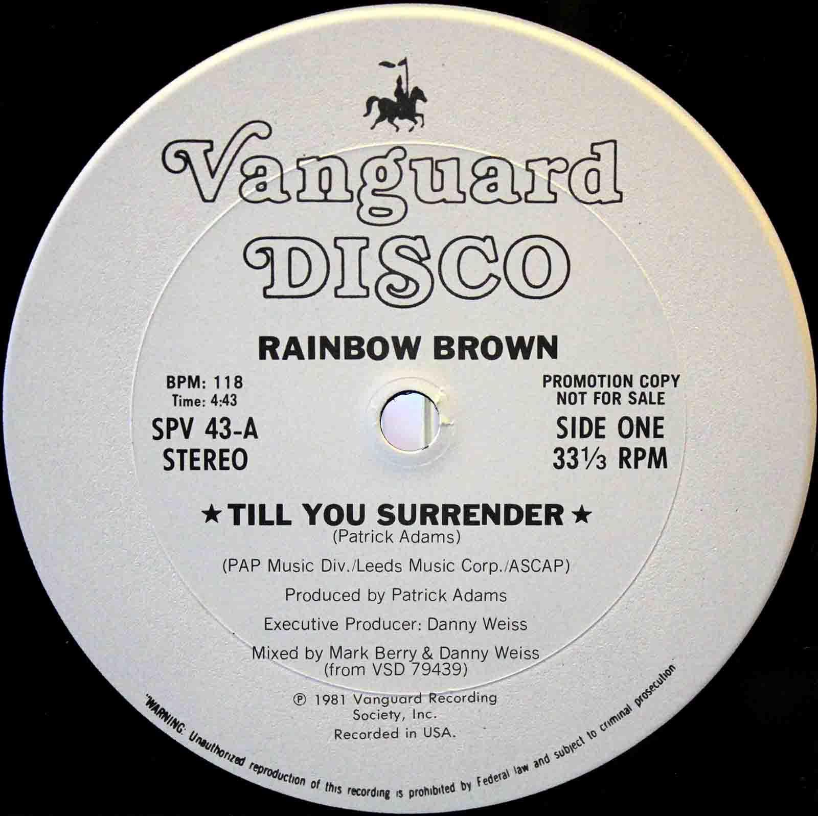 Rainbow Brown – Till You Surrender 03
