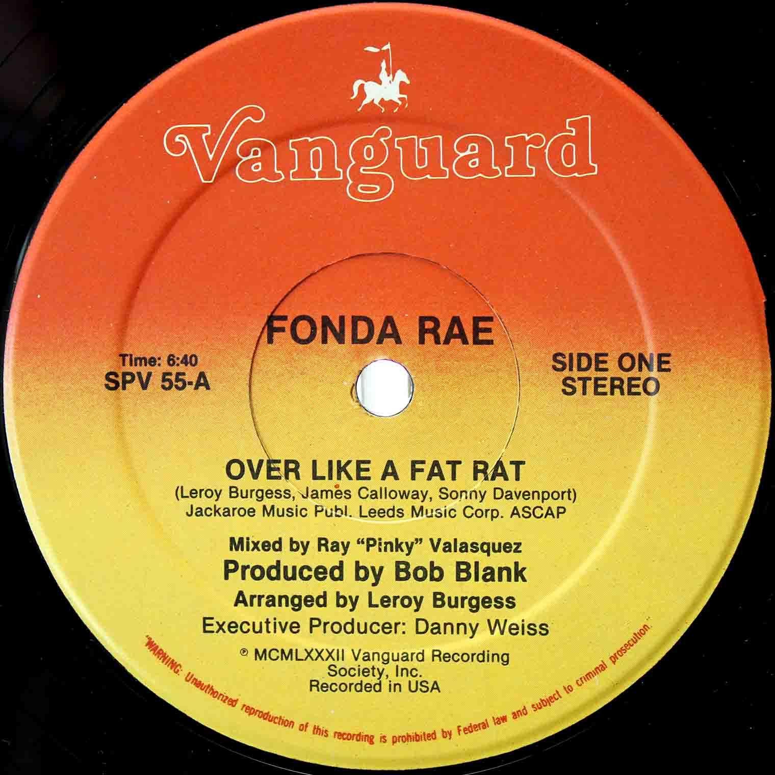 Fonda Rae Over Like Fat Rat 03