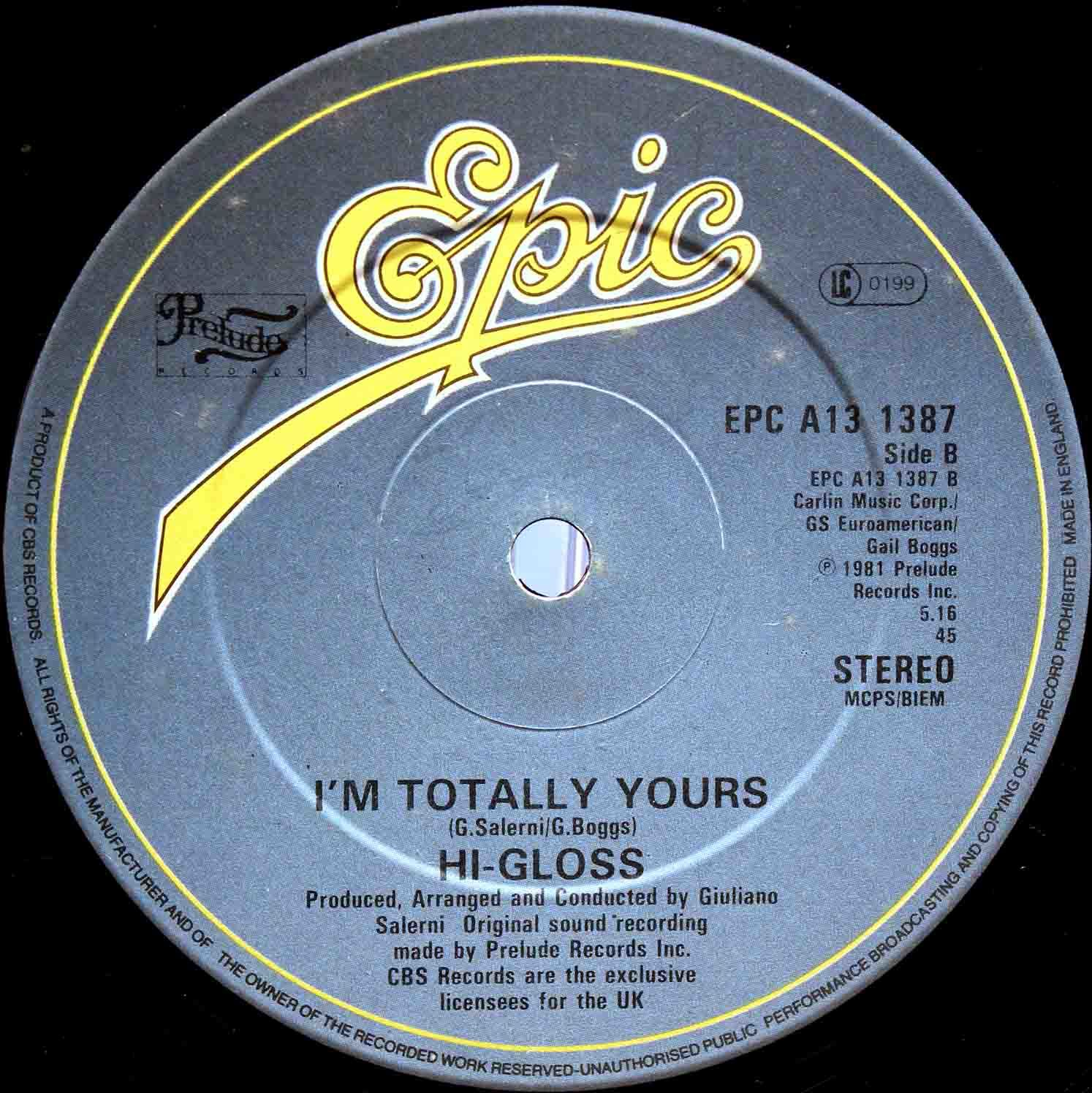 Hi-Gloss Im Totally Yours 02