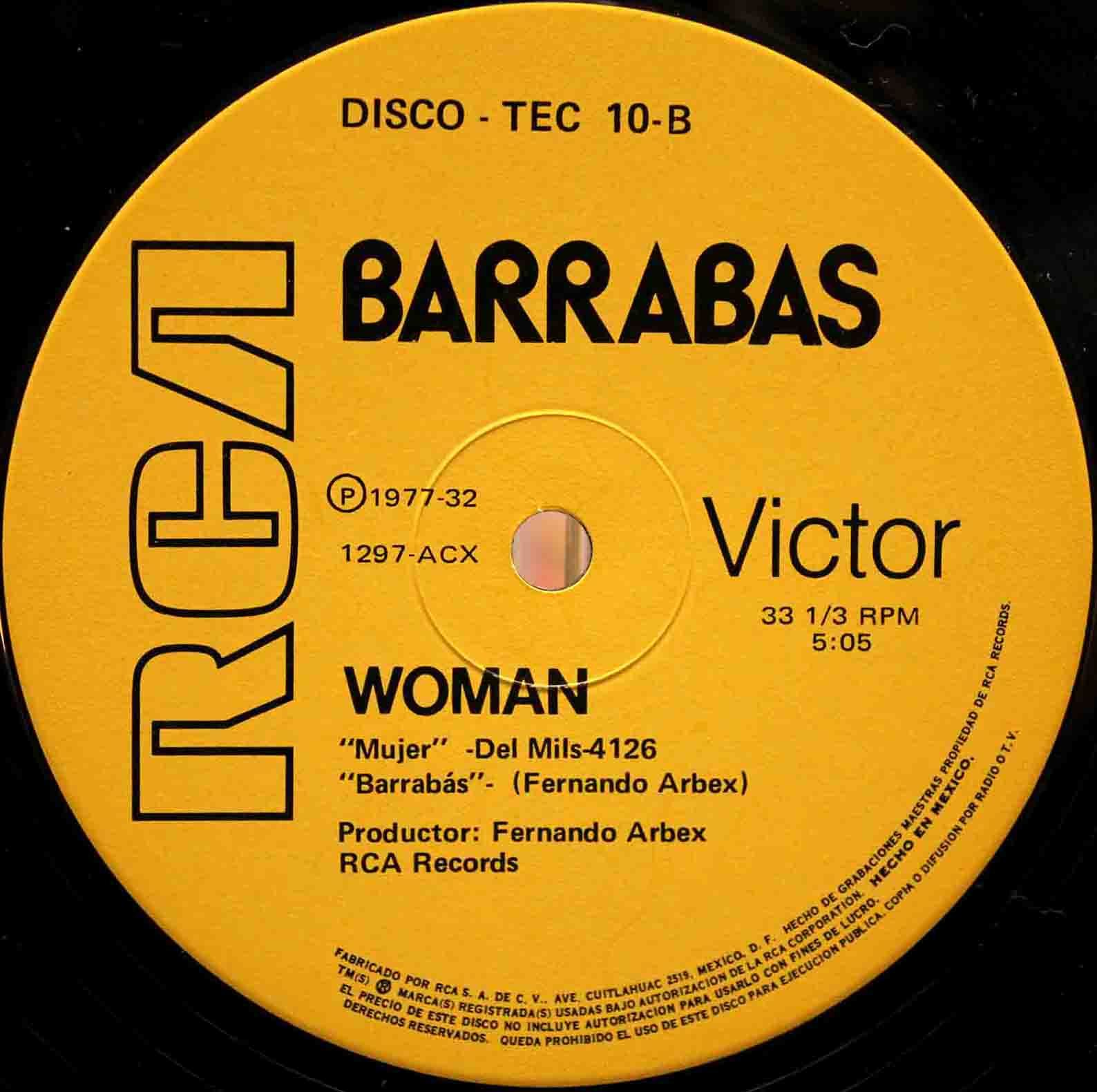Barrabas Woman 03