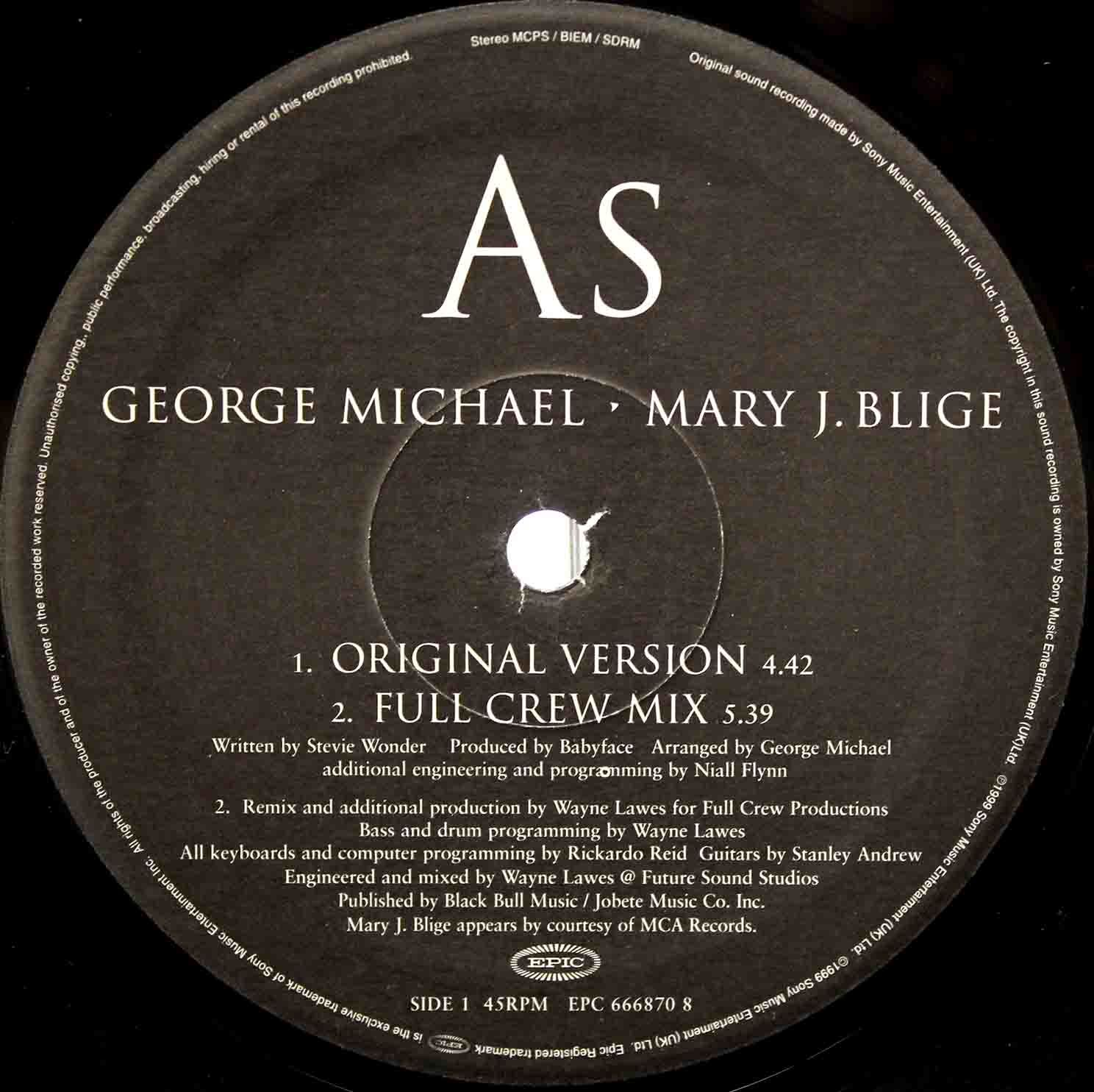 George Michael Mary J Blige - As 04