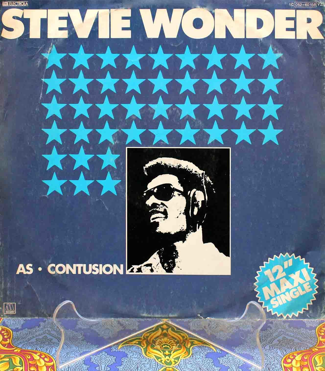 Stevie Wonder ‎– As 12 オリジナル 01