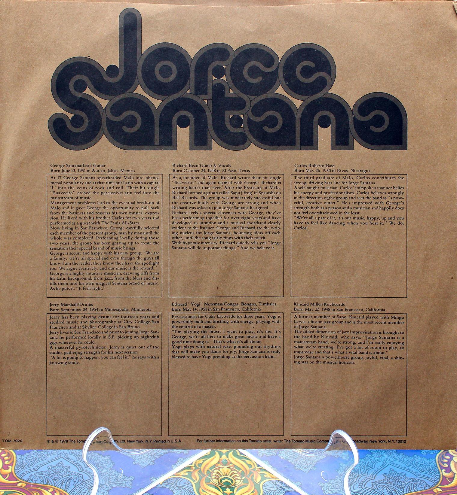 Jorge Santana 12inch 03