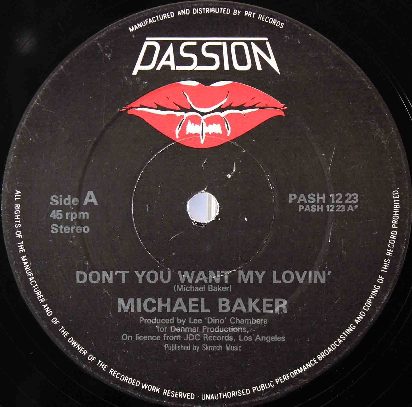Michael Baker ‎– Dont You Want My Lovin 03