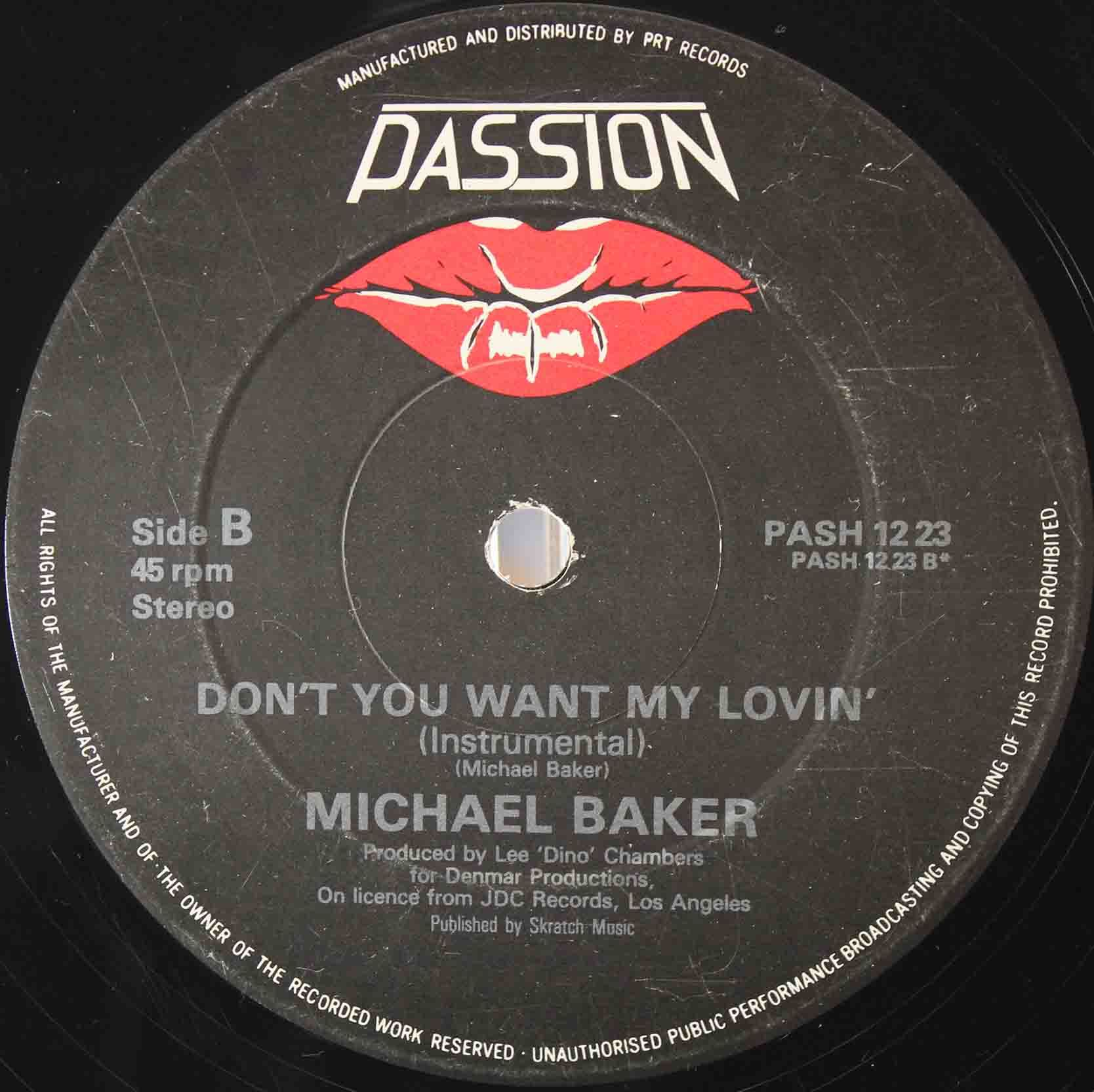 Michael Baker ‎– Dont You Want My Lovin 04