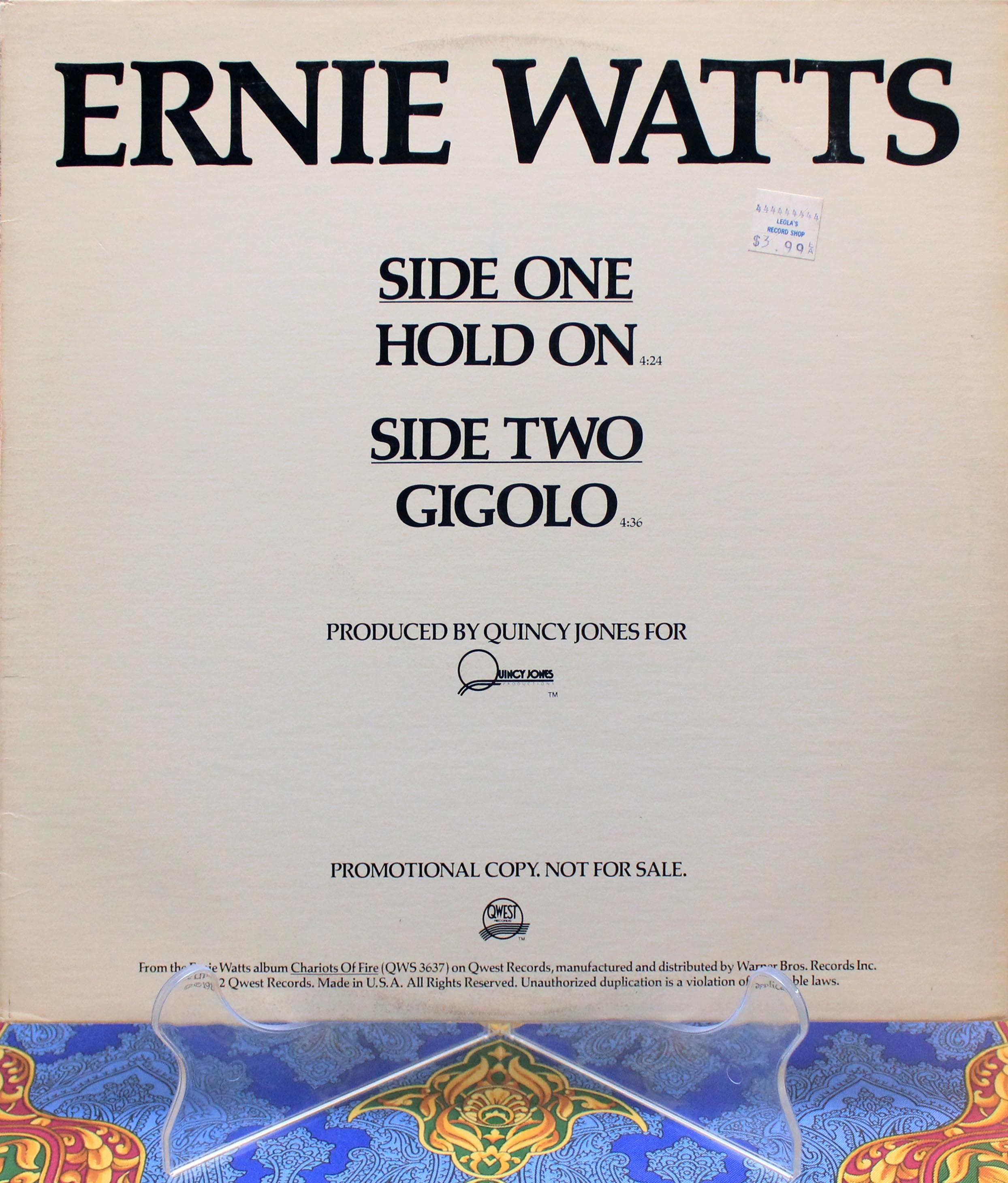 Ernie Watts Gigolo 01