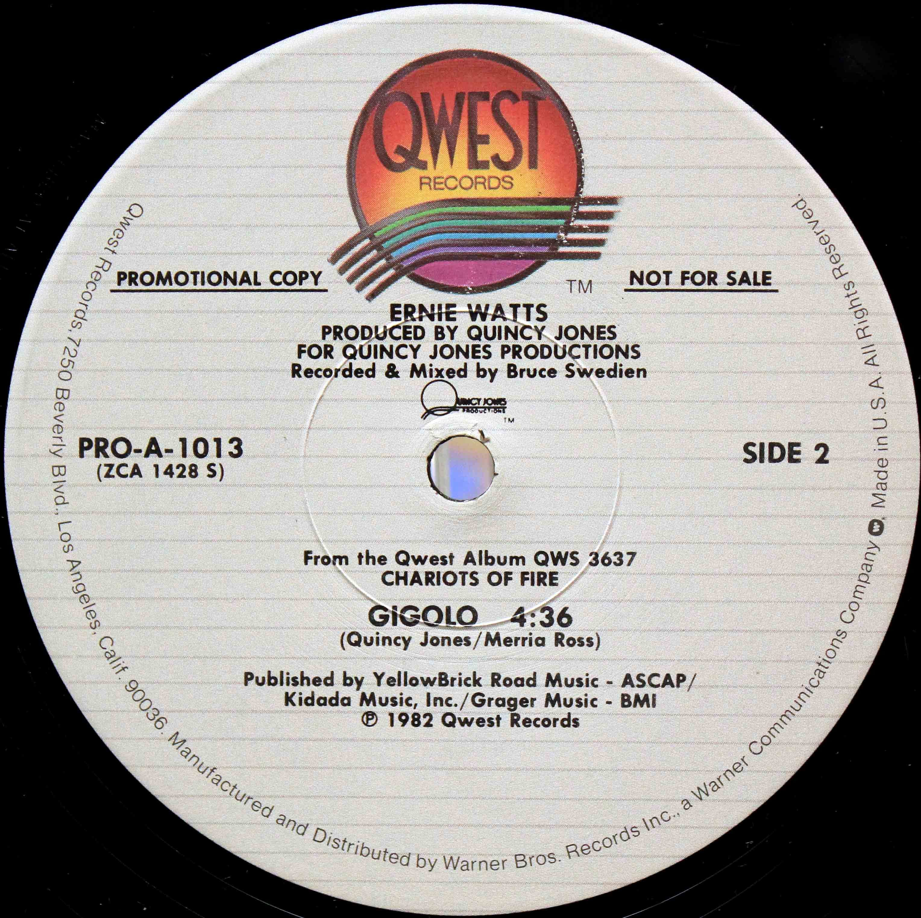 Ernie Watts Gigolo 02