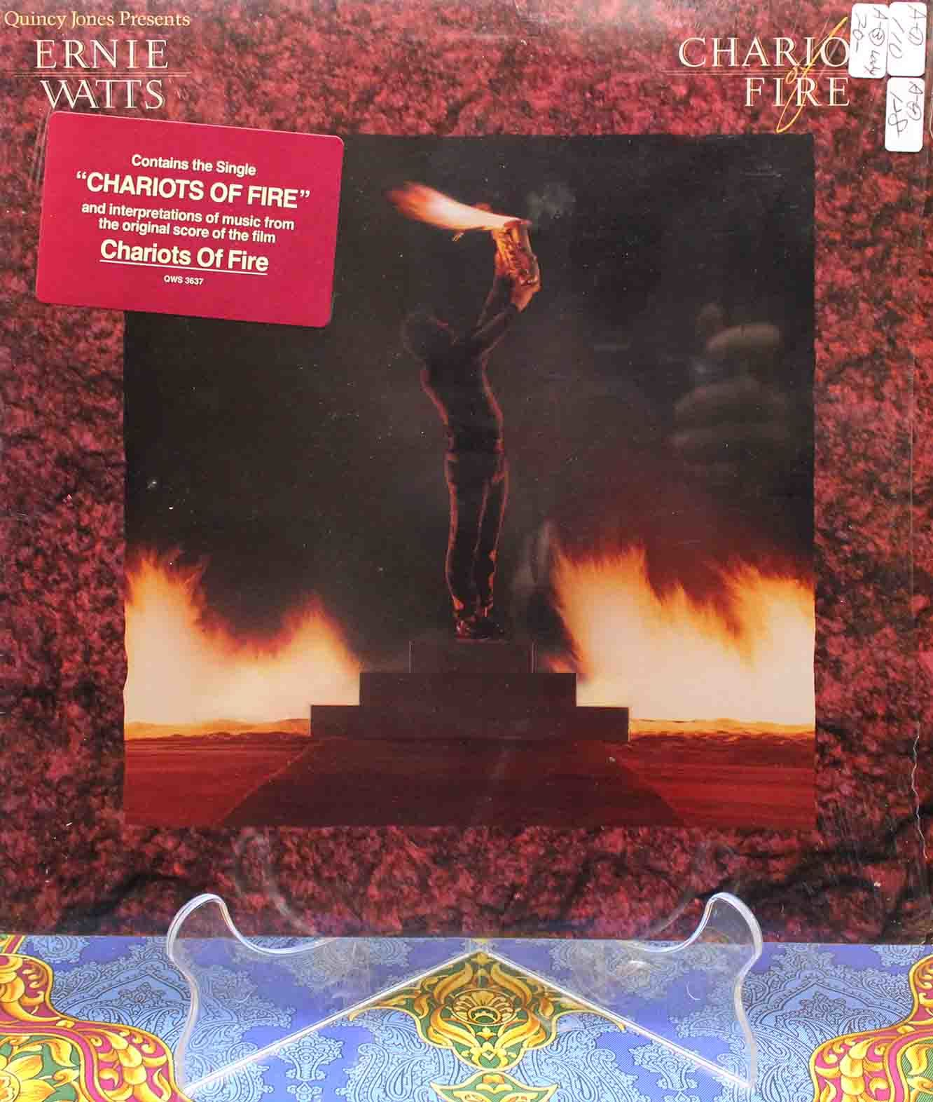 Ernie Watts – Chariots Of Fire LP 01