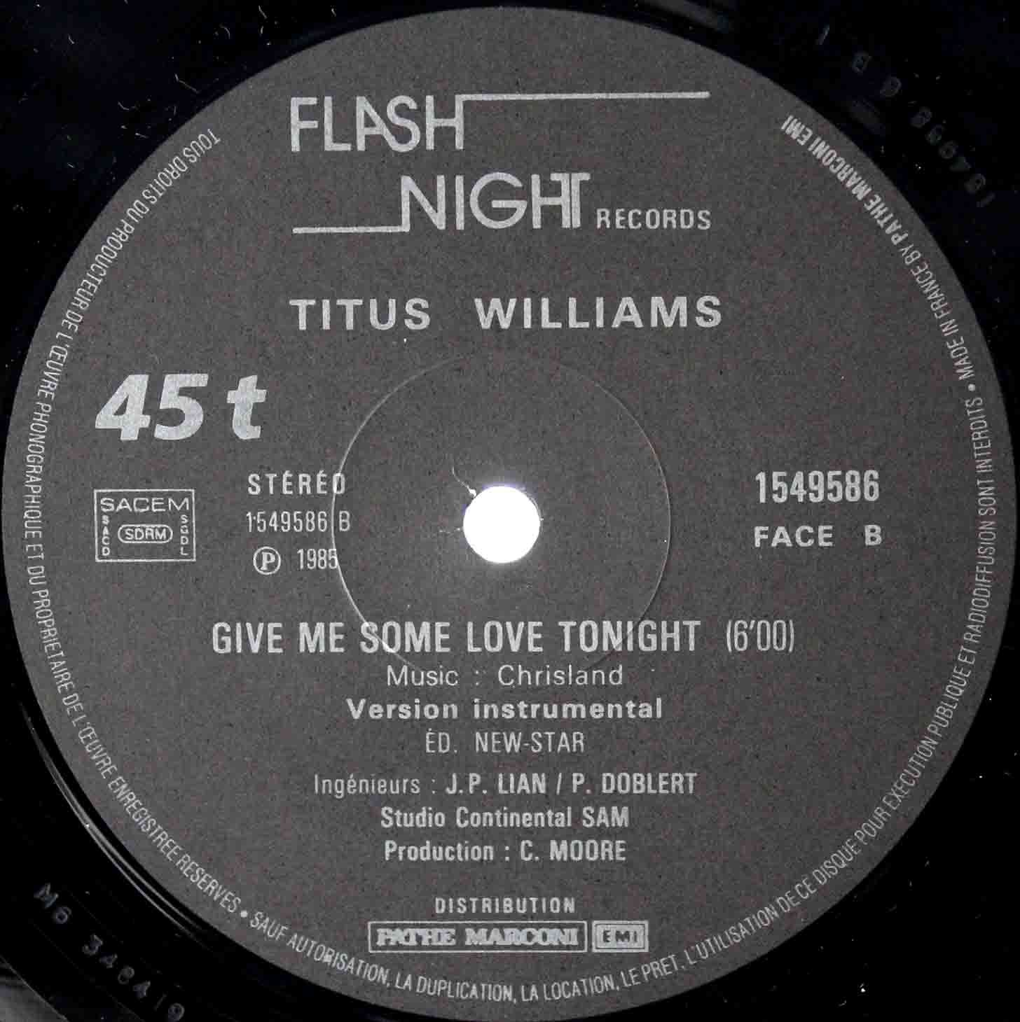 Titus Williams ‎– Give Me Some Love Tonight 04