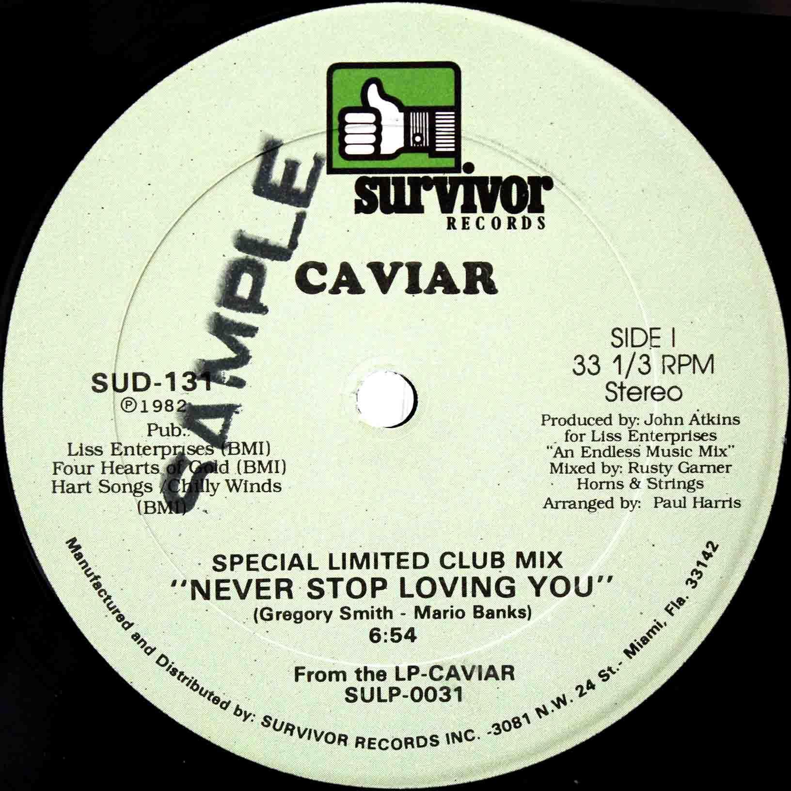 Caviar Never Stop Loving You 03