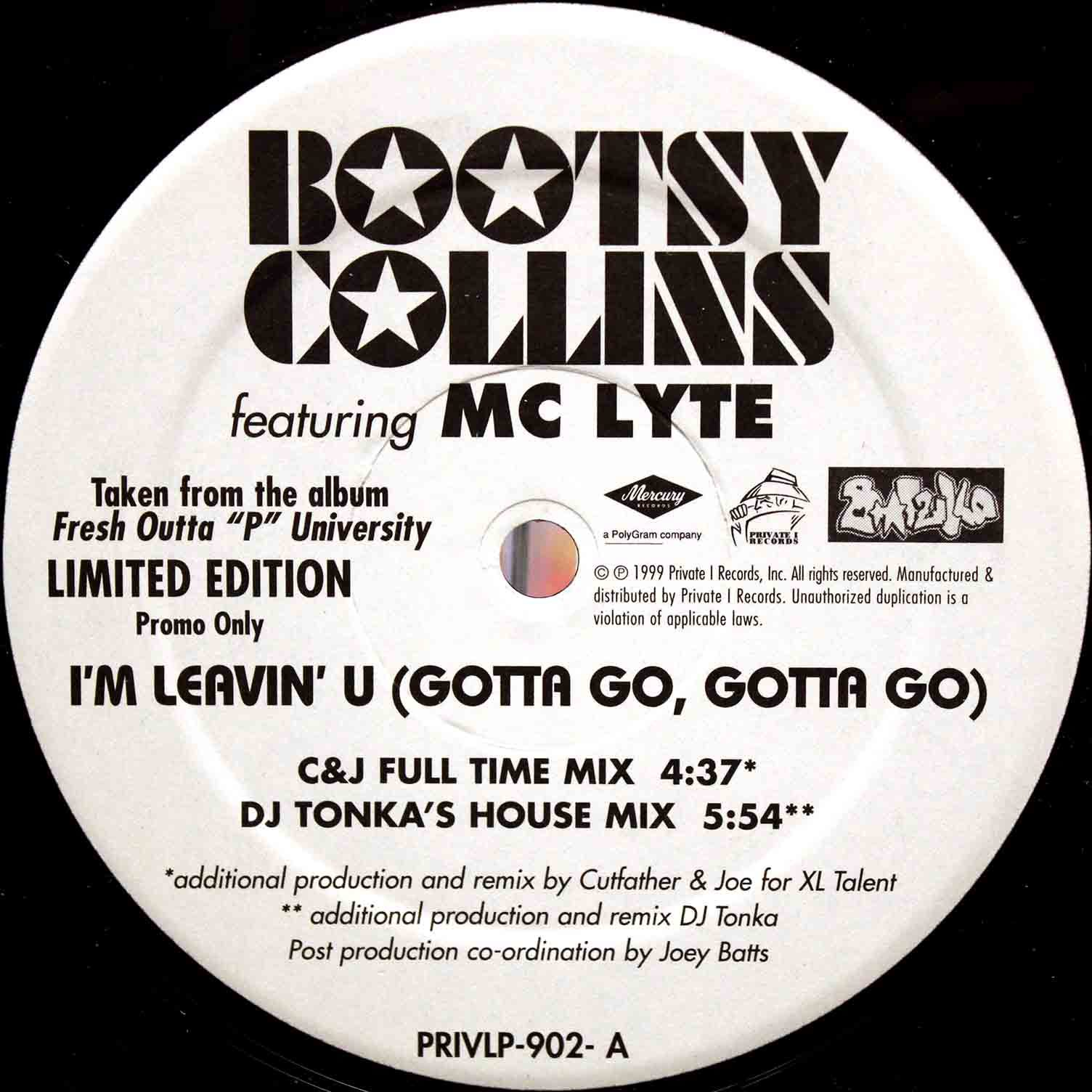 Bootsy Collins - Im Leavin You 03