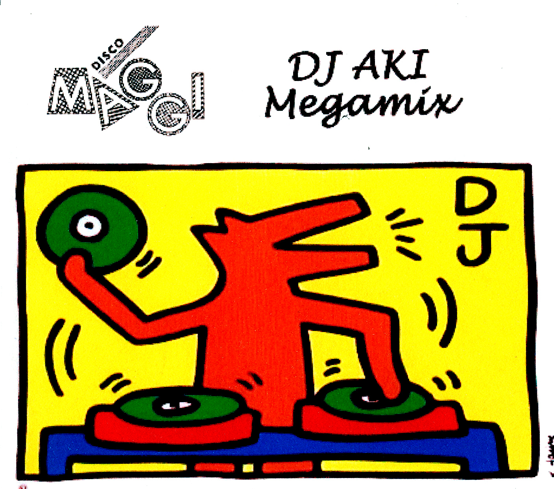 Disco Maggi Osaka DJ AKI Front