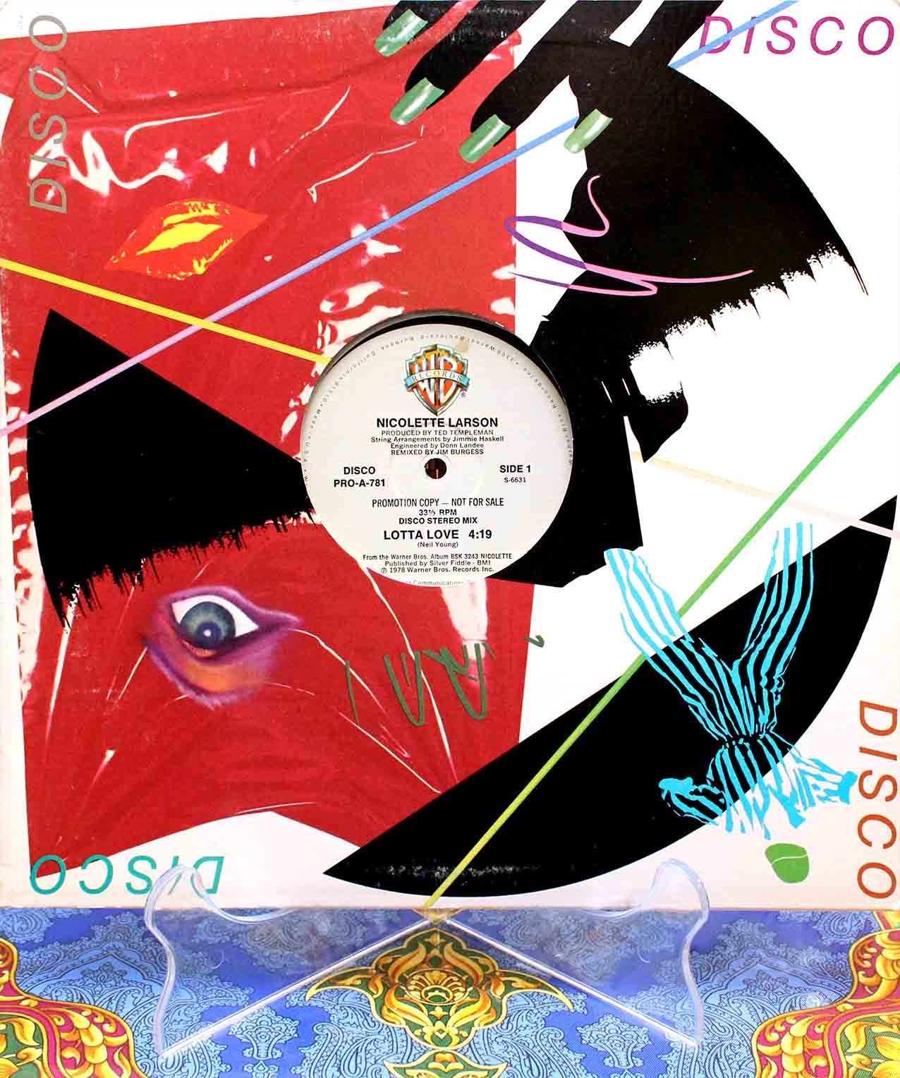 Nicolette Larson – Lotta Love (disco) 01