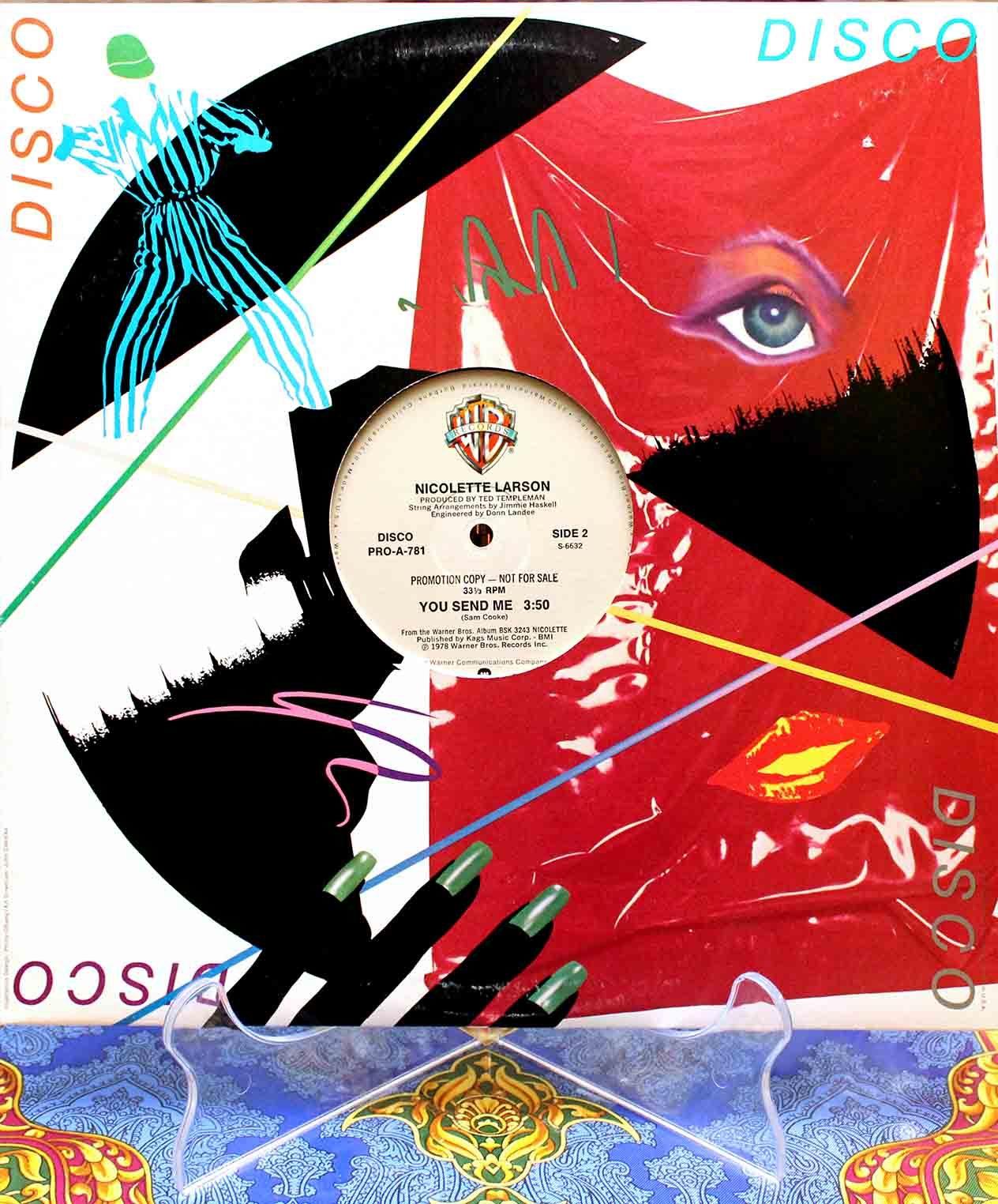 Nicolette Larson – Lotta Love (disco) 02