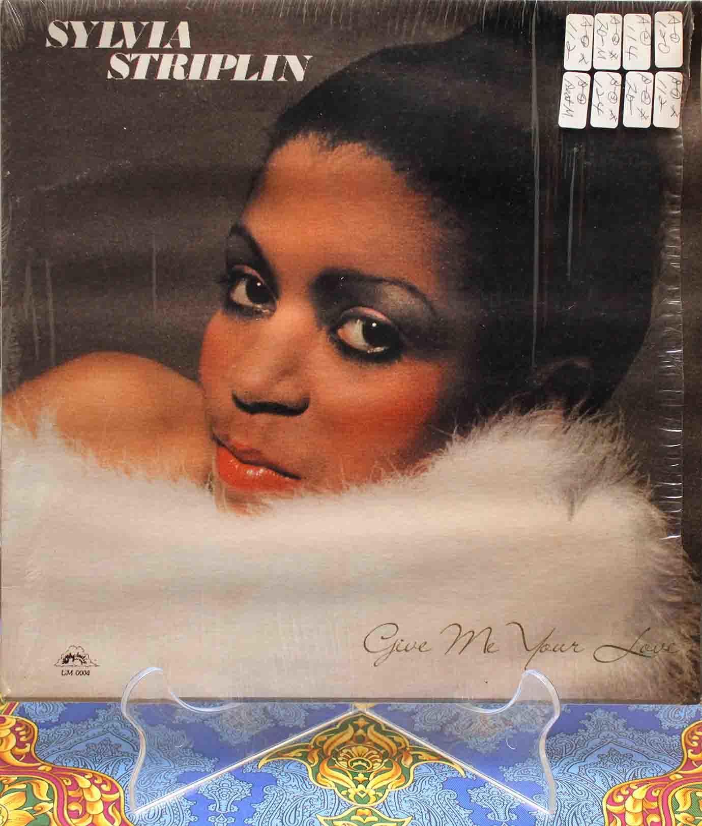 Sylvia Striplin – Give Me Your Love LP01