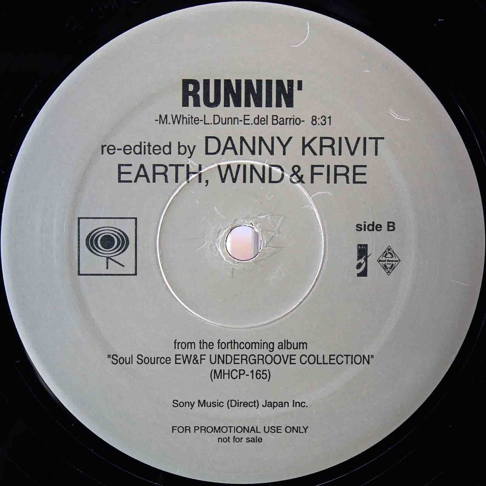 Earth, Wind Fire Runnin (Japan Promo 12`Danny Krivit Re-Edits) 02