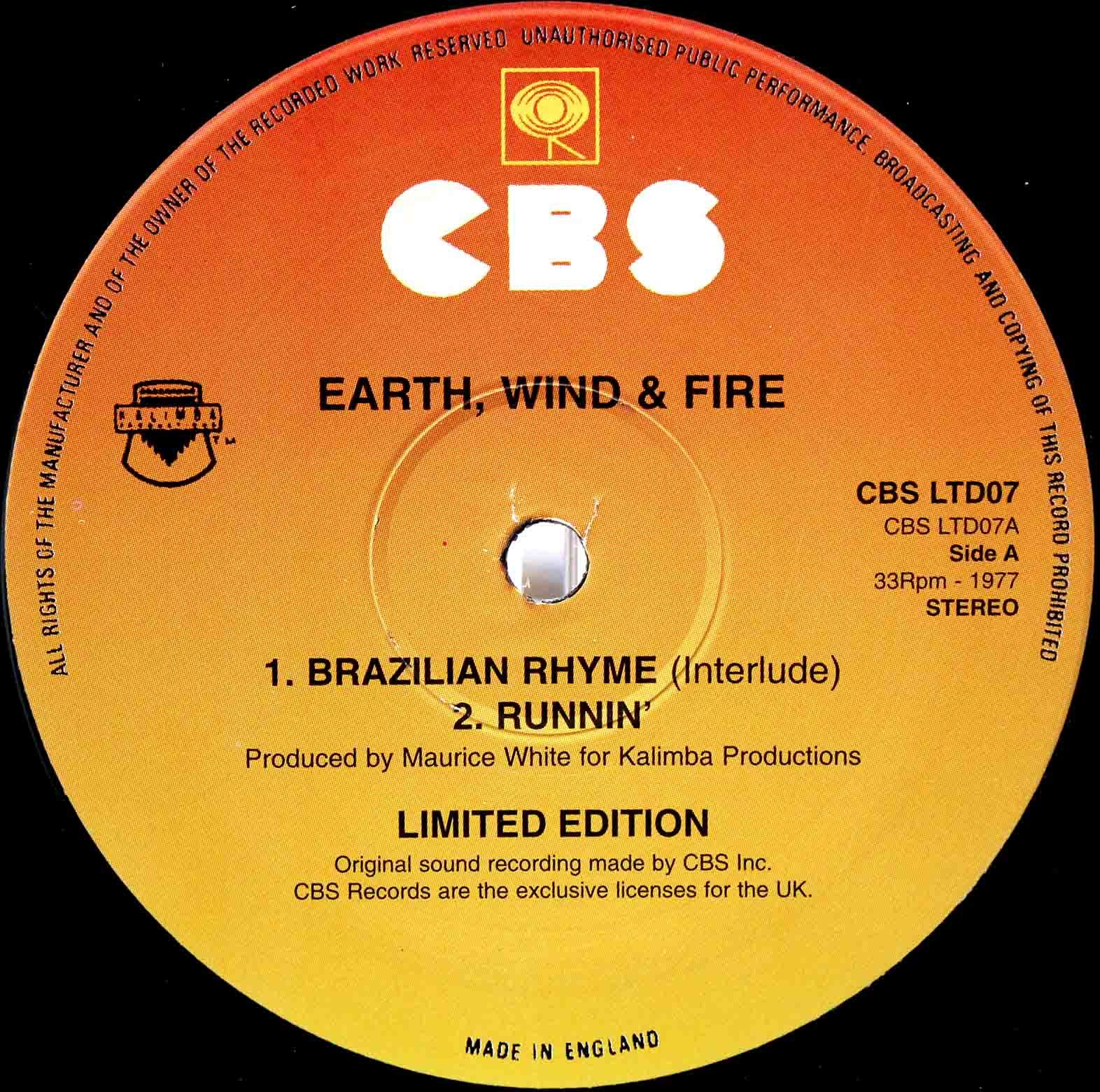 Earth, Wind Fire - Runnin 03