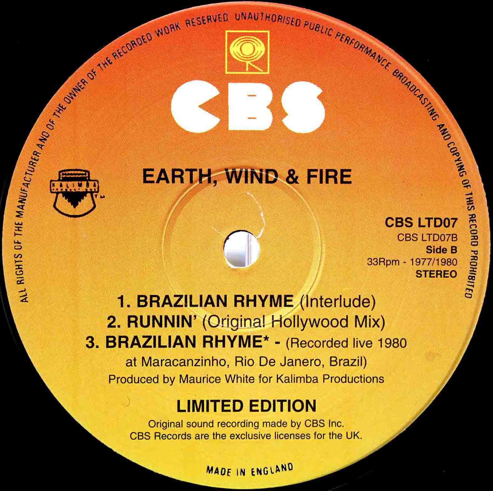 Earth, Wind Fire - Runnin 04